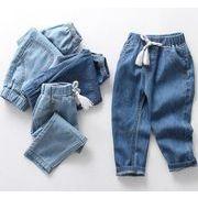 キッズ  子供服 パンツ ジーンズ デニムパンツ韓国ファッション カジュアル ロング ズボン