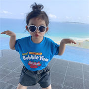 Tシャツ トップス 夏 キッズ 女の子 アニメ プリンセス 韓国子供服 2020新作 SALE ファッション