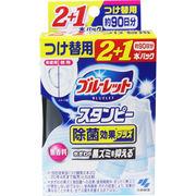 ブルーレットスタンピー 除菌効果プラス 無香料 つけ替用3本パック