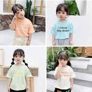 子供Tシャツ キッズ服 夏 ブラウス トップス 男の子 女の子 tシャツ カジュアル系