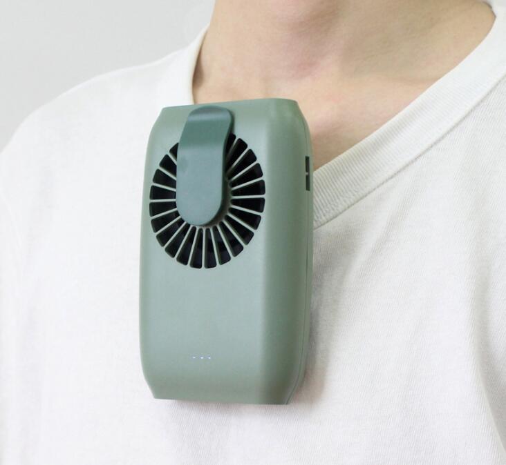 ハンディファン 首掛け 手掛け 服掛け 扇風機 USB充電式 ミニ 卓上 携帯 熱中症対策 プレゼント