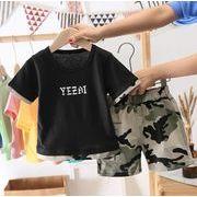 2020夏新作 セットアップ  男の子 キッズ服 子供服 2点セット Tシャツ+パンツ カジュアル