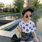 女の子 Tシャツ 夏 ビーチ プリンセス 韓国子供服 2020新作 SALE ファッション 動画あり