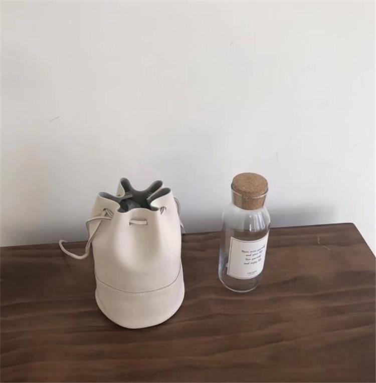 ★実物画像あり!新作★ 夏の水桶包み 収縮パック 束口引き 柔らかい皮 百掛け 気質 ショルダーバッグ