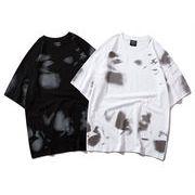 HIPHOP 100%綿 カットソー 半袖Tシャツ 夏服 男女兼用