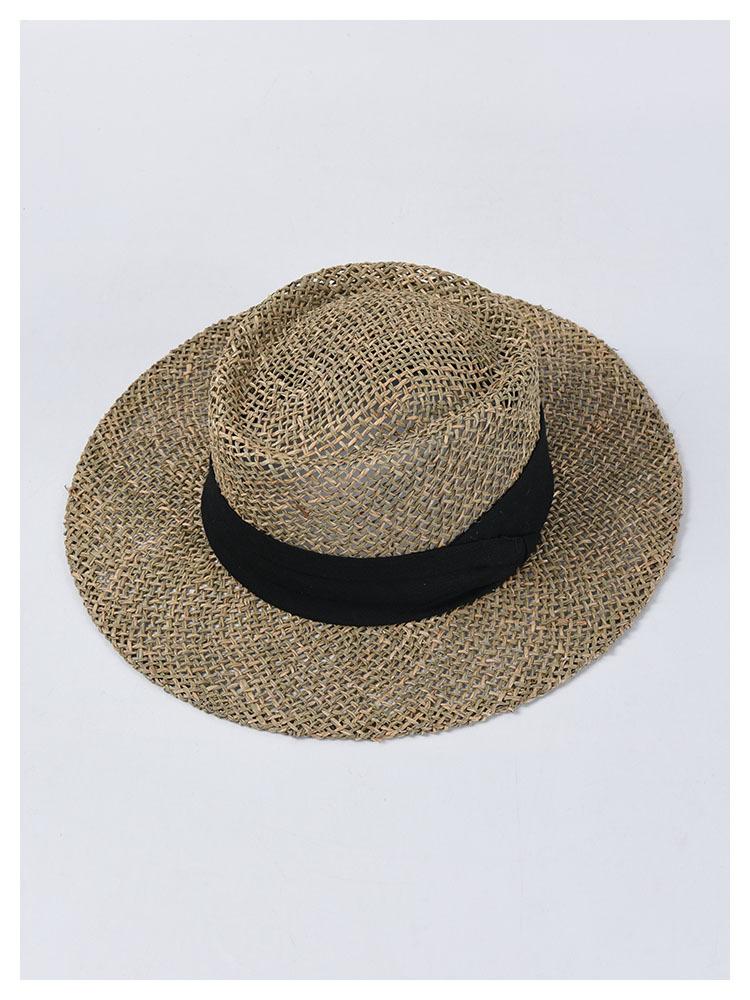 紫外線対策 麦わら帽子 バイザーハット 帽子 レディース UVカット サンバイザー