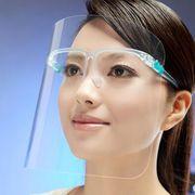 フェイスシールド 保護シールド 高透明度 飛沫防止  花粉対策  メンズ レディース 男女兼用 防災