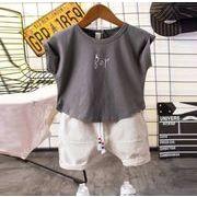 子供服 夏 セットアップ Tシャツ+パンツ 男の子 2点セット カジュアル系