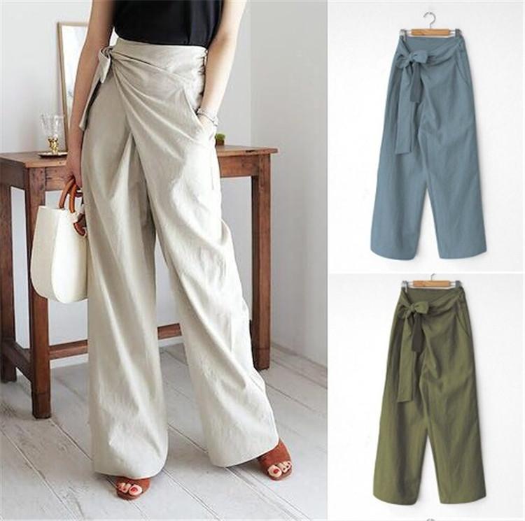 今年売れてます 2020 新作 韓国ファッション 大人気 トレンド 全5色 パンツ 切り替え 無地 シンプル