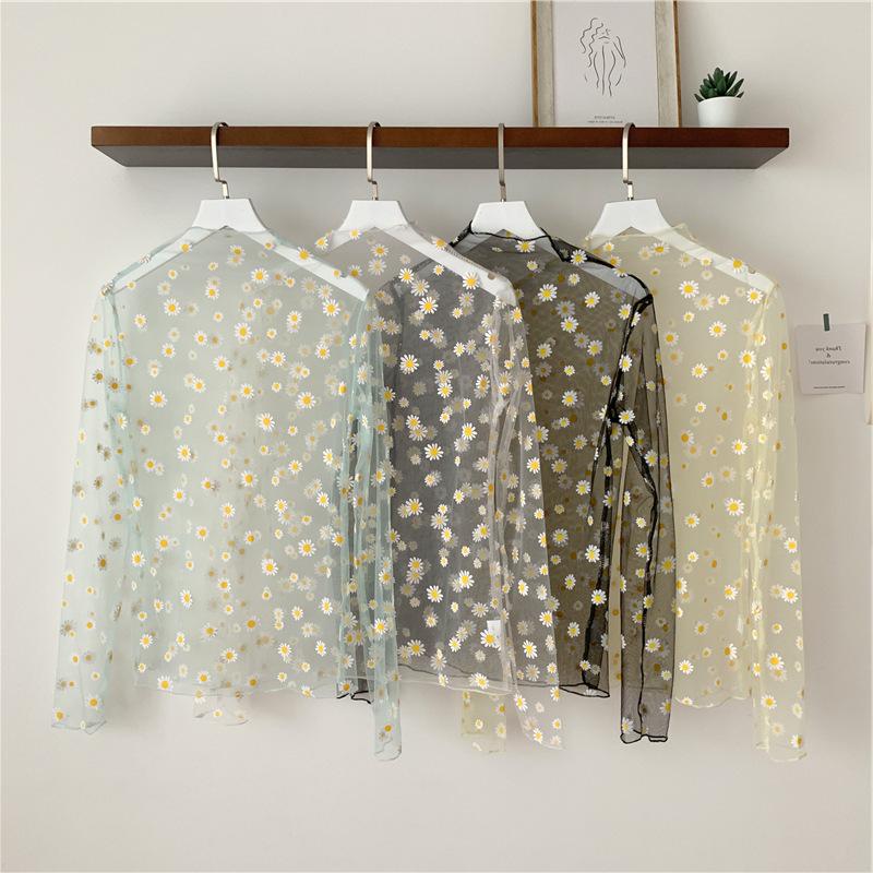 キッズ 日焼けどめの服 花柄 薄手 ストライプ 女の子 紫外線対策 夏 2020新作 SALE ファッション