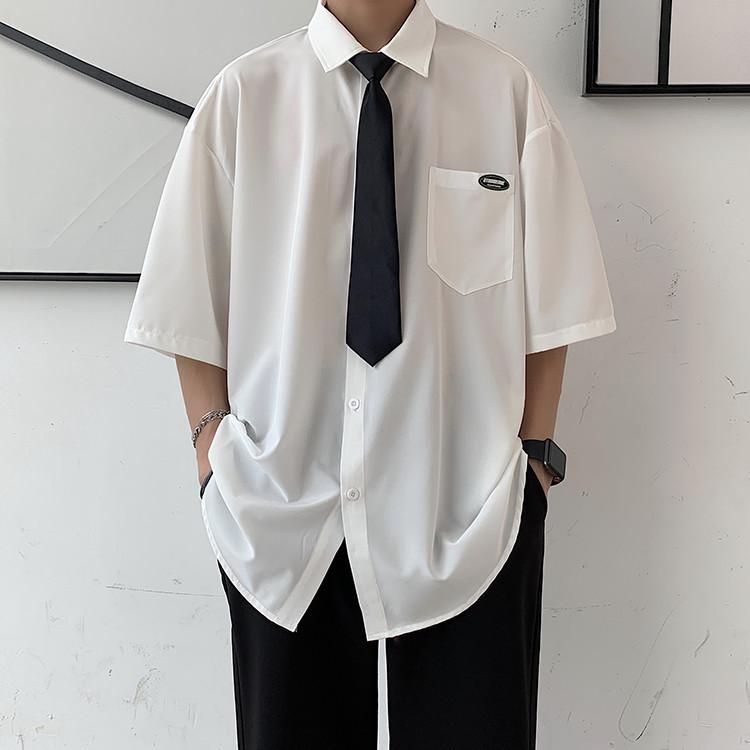 合わせやすい服で 早い者勝ち シャツ トレンド ハンサム 怠惰な風 スマート カジュアル おしゃれな