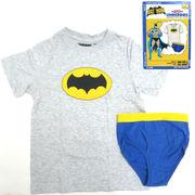 UNDEROOS BATMAN 【バットマン Tシャツ & ブリーフ セット】【キッズ】