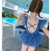 子供水着 90-140 キッズ 女の子  ビーチ 練習用 温泉 可愛い ワンピース