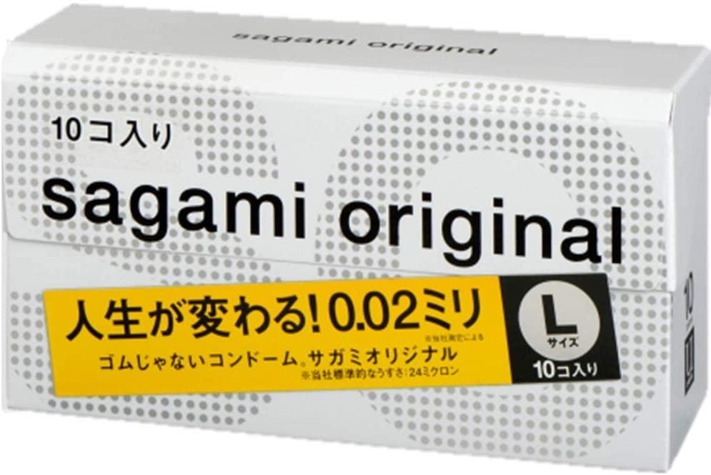 相模ゴム工業 サガミオリジナル002 Lサイズ(10個入)