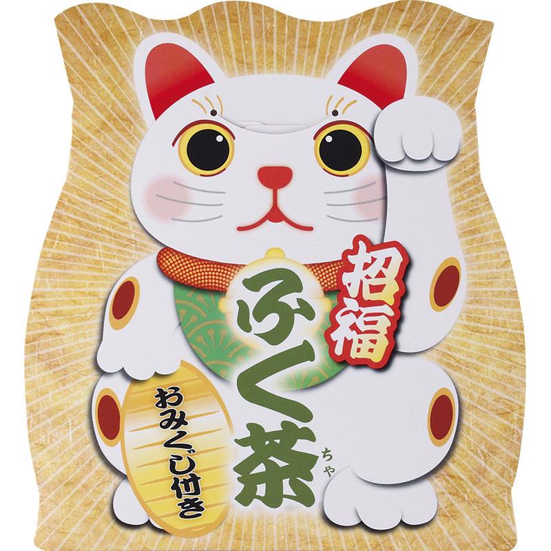 招福ふく茶煎茶ティーバッグ(おみくじ付き) SFY-10