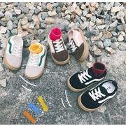 【子供靴】カジュアル系スニーカー 14-20cm 春秋 男女兼用 全4色 子供靴 キッズ靴