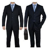期間セール メンズ/セットアップ ビジネススーツ OL通勤 大きいサイズ/スリム/無地 就活 紳士