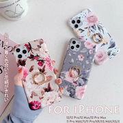 【iPhone新機種対応】iPhone 12 11 pro max アイフォン スマホケース iphoneケース 花びら きれいめ