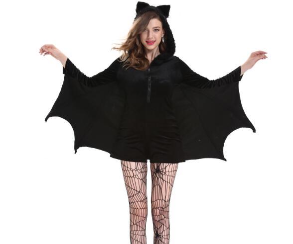 ハロウィン コスチューム レディース イベント 衣装 仮装 変身 コウモリ Halloween