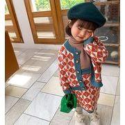 トップス パンツ セットアップ 2点セット 子供服 キッズ 女の子 韓国子供服 ニット
