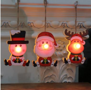 新作★クリスマス用品★木質★装飾用品