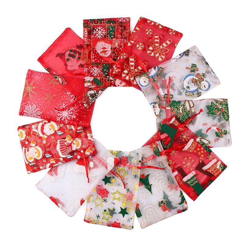 巾着袋 きんちゃく 小物入れ 収納 バッグ クリスマス ギフト プレゼント 雑貨