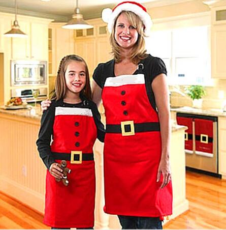 【雑貨】プレゼント クリスマスグッズ クリスマスツリー飾り物 エプロン 前掛け