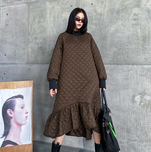 u17399 厚手 ワンピース 大人の魅力 保温 ドレス SALE レディース   上品 女性らしい 秋冬新作