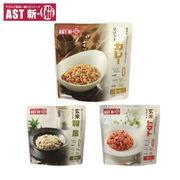 【1ケース/25袋入】AST新・備玄米リゾット 5年保存 レトルトパウチ 災害用 非常食