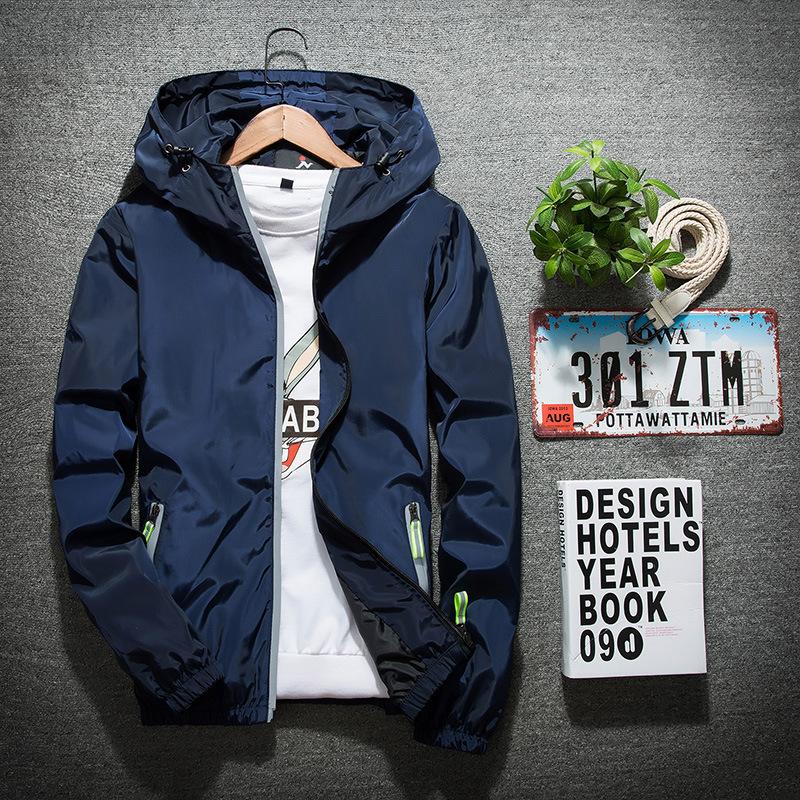 ジャケット メンズ 長袖 秋冬 ブルゾン ジャケット ジップアップパーカー ウインドブレーカー