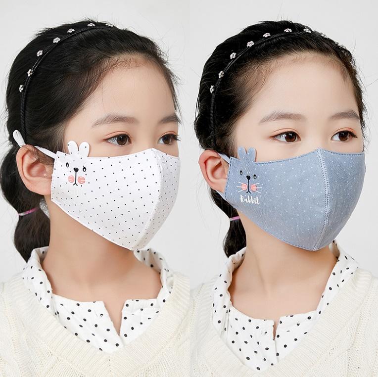 2020秋冬新作 防塵マスク 花粉症対策 子供用 ファッション マスク 防寒 保温 暖かい
