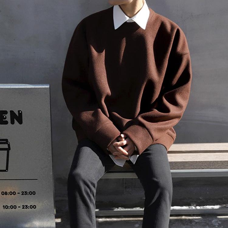 メンズファッション 無地 ジャージー レジャー アウター 韓国スタイル メンズ 上着 トップス