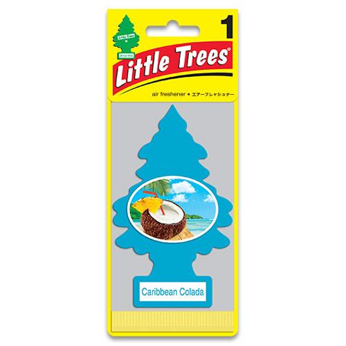 リトルツリー エアフレッシュナー LittleTrees カリビアンコラーダ