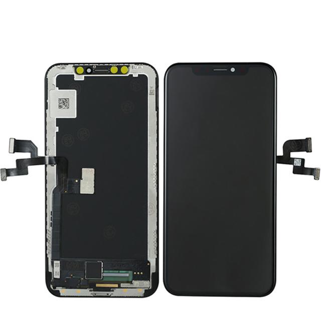 iPhone X OLED液晶パネル(ブラック) 修理・交換・パーツ