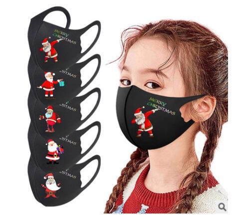 秋冬マスク 通気性マスク 子供クリスマスマスク 薄地マスク 繰り返し使えるマスク 飛沫防止