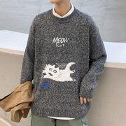 限定数量セール!! 秋冬 高品質 セーター 紳士 ビックサイズ ニット 学生 上着 シャツ トップス メンズ