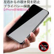 【前面(液晶)用】iPhone13 ガラスフィルム ディスプレー保護 プライバシー保護 高透過率 指紋防止 硬度9H