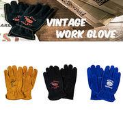 【Work Glove】 【牛革】 ヴィンテージ ワーク グローブ レディキロ他