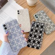 韓国 iPhone12 Pro Max ケース チェック柄iPhoneケース iPhone7 iPhone11Proケース