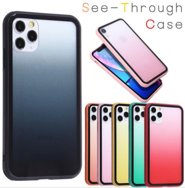 iPhone6~iPhone12ProMax対応 グラデーションカラーがキレイなiPhoneケース
