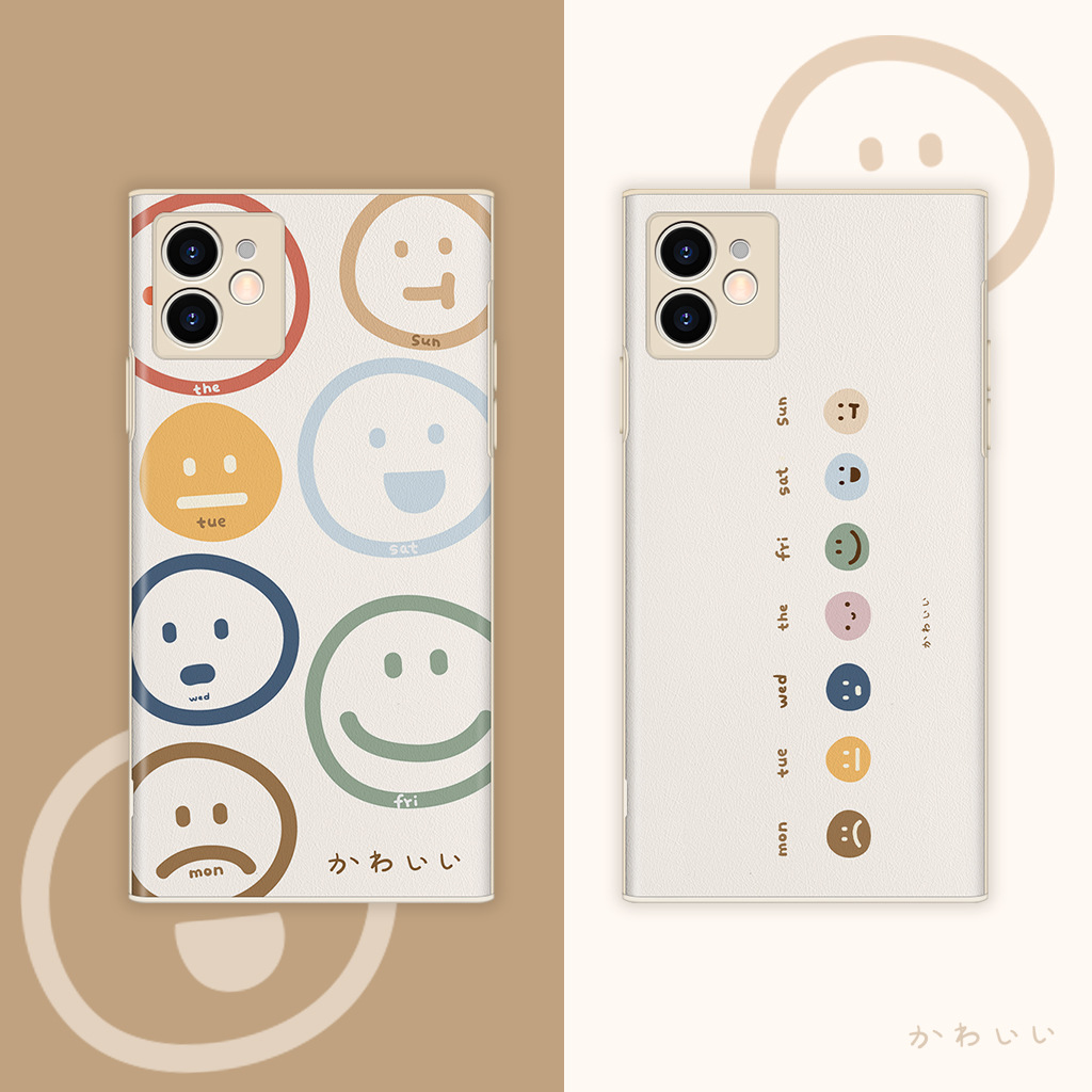 iPhone12 Pro Max ケース スマイル iPhone 8 ケース 笑顔