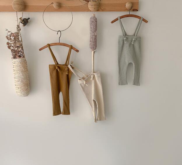 ベビーロンパース サロペット 男女兼用 ベビー カバーオール オールインワン 子供服