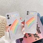 iPhone ケース レインボー iPhone 12 Pro ケース iPhoneXRカバー