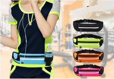 超安い ランニング携帯電話バッグアウトドアフィットネスウエストバッグ