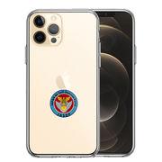 iPhone12 Pro 側面ソフト 背面ハード ハイブリッド クリア ケース 航空自衛隊 エンブレム