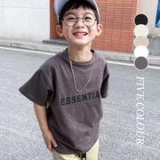 【KID】2021年韓国春新作 子供服 半袖tシャツ カジュアル 全5色 4月20日頃再入荷予定