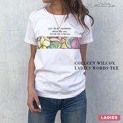 Colleen Wilcox レディースWORDS TEE
