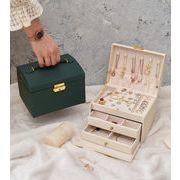 ジュエリー収納 指輪収納ボックス ジュエリーボックス ピアス収納 アクセサリー箱