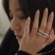 【Nothing And Others/ナッシングアンドアザーズ】Double Line ring