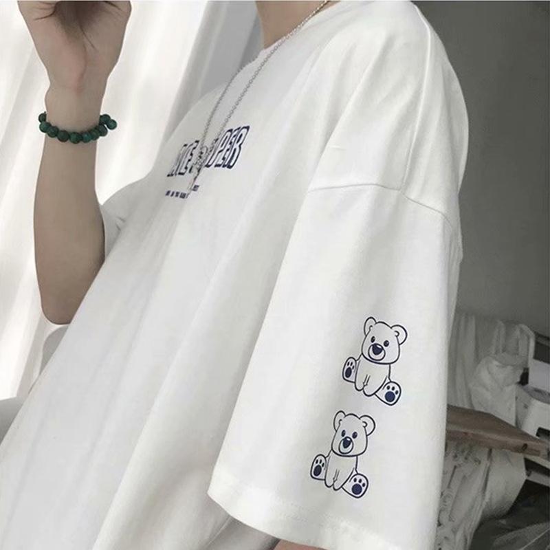 春夏新作 メンズトップス 男の子Tシャツ 半袖 カジュアル ゆったり